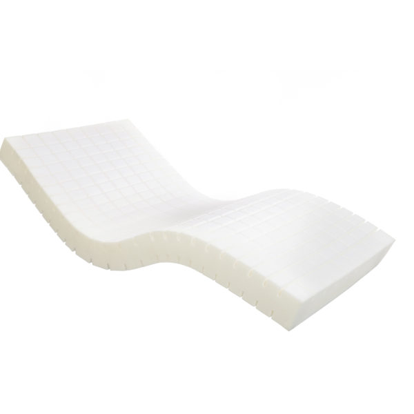 white foam mattress