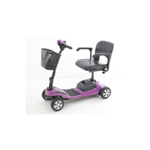 pink mobility scooter