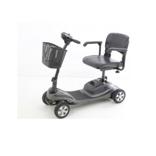 grey mobility scooter