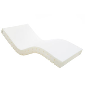 foam mattress without cover on
