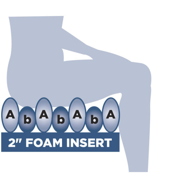 foam cushion diagram
