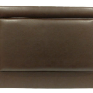 Bramwell leather headboard