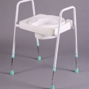 white shower stool