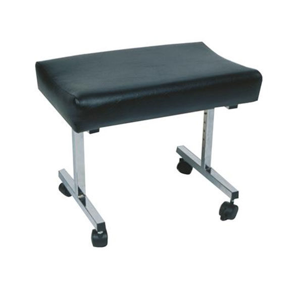 adjustable height and tilt stool with castors