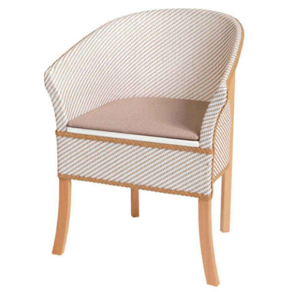 commode basket chair weave
