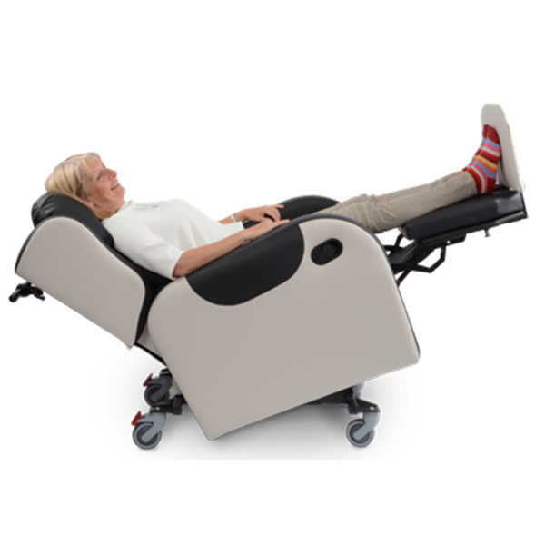 primacare broadway reclining chair side view