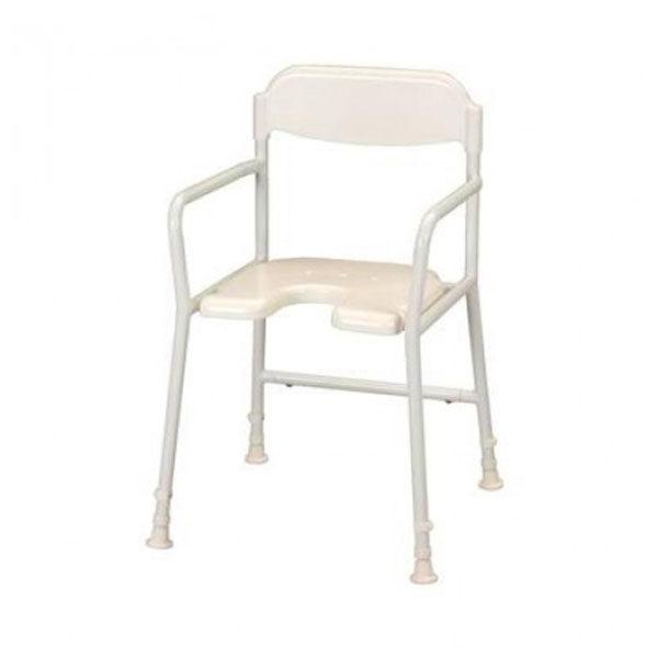 shower chair white background