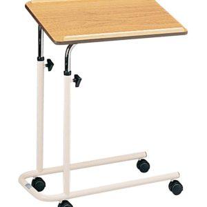 split leg overbid table with castors