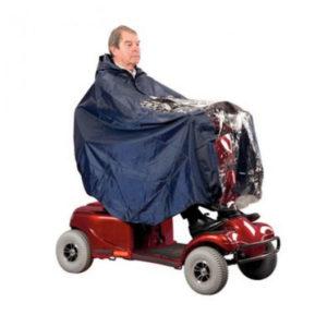 waterproof scooter cape blue